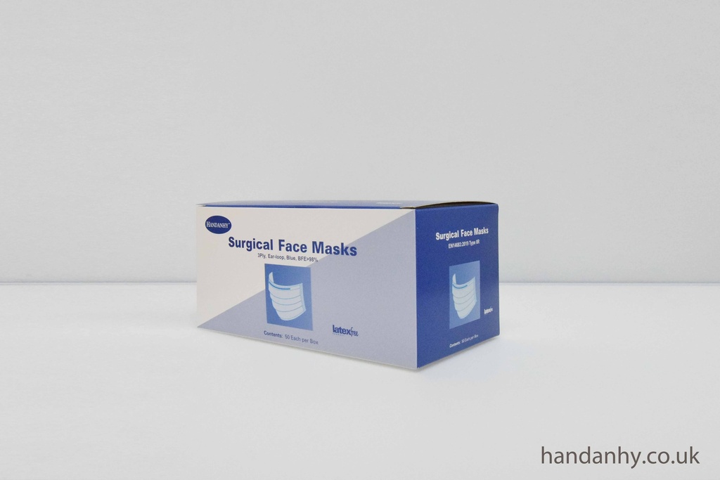 HY98F1 Surgical Medical Face Masks 3-ply - Type IIR Certified
