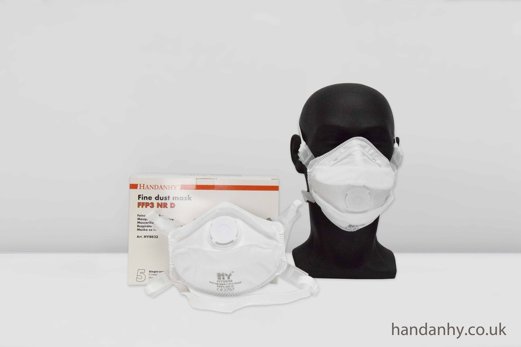 HY8632 FFP3 Respirator NR Valved (Box of 5)