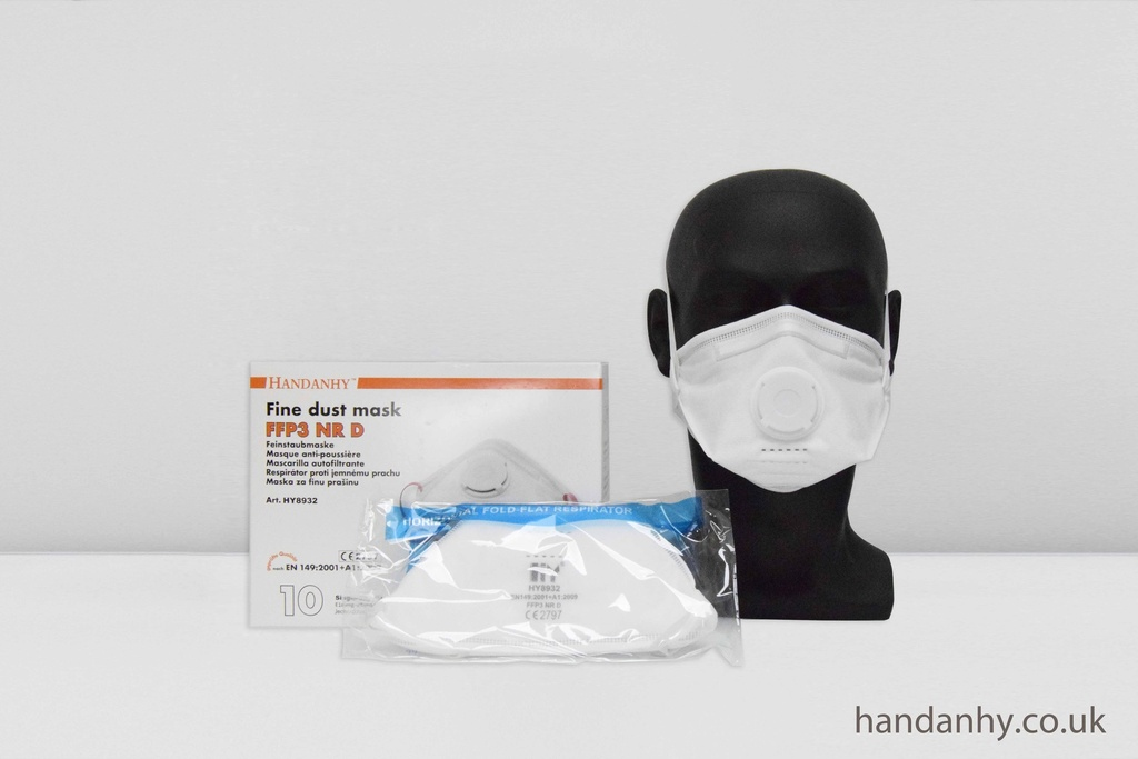 HY8932 FFP3 Respirator NR Valved (Box of 10)