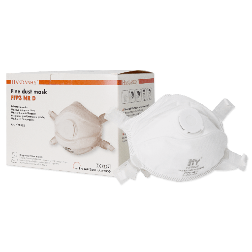 [8632] HY8632 FFP3 Respirator NR Valved (Box of 5)